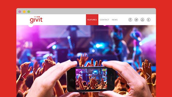 Givit Video Editing App